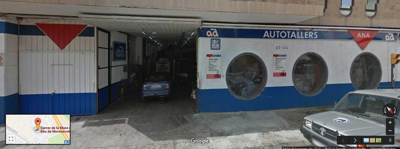 Taller mecánico en Barcelona - Talleres ANA