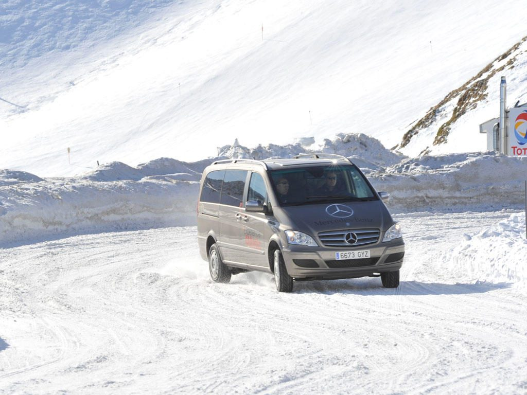 Conduccion en nieve furgonetas