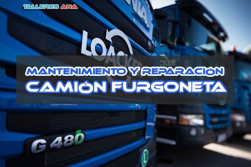 Taller mecánico - Reparación Mantenimiento Camiones y Furgonetas