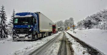 conduccion camiones nieve